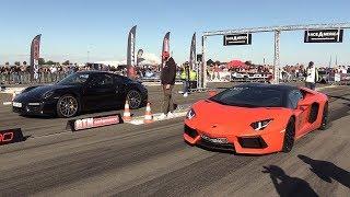 Download Lamborghini Aventador vs Porsche 991 Turbo S Video