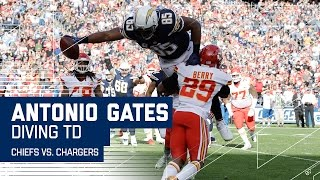 Download Antonio Gates' Big TD Ties the Tight End Record for Career TDs! | NFL Week 17 Highlights Video