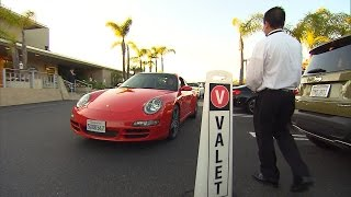 Download Watch Valet Drivers Hand Off Cars To People Who Don't Own Them Video