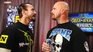 Download Raw: CM Punk confronts ″Stone Cold″ Steve Austin Video