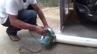 Download CALHA PARA TELHAS FEITA DE CANO DE PVC PARTE 02 LARGURA 8 m DE COMPRIMENTO Video