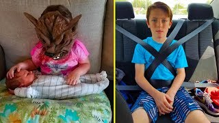 Download Hilarious Photos That Prove Siblings Are The Biggest Assholes Ever Video