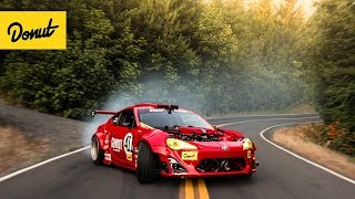 Download RIP GT-4586 : Ferrari-Powered Toyota drifts a Portland Touge Video