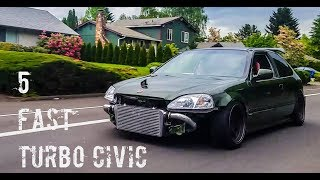 Download 5 FAST TURBO CIVIC Video