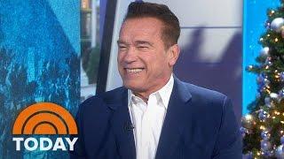 Download Arnold Schwarzenegger On 'New Celebrity Apprentice,' Donald Trump, Catchphrases | TODAY Video