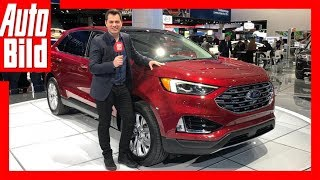 Download Ford Edge Facelift (NAIAS 2018) Details/Erklärung Video