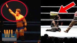 Download 8 SHOCKING WWE Moments Caught on Camera By Fans Video