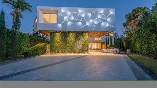 Download Striking Modern Waterfront Residence in Miami Beach, Florida Video