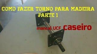 Download Torno para madeira caseiro, passo a passo parte 1 mancais (homemade) Video