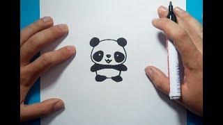 Download Como dibujar un oso panda paso a paso 4 | How to draw a panda 4 Video