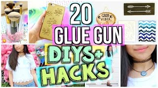 Download 20 Ways to Use a Glue Gun! DIYs and Life Hacks | JENerationDIY Video