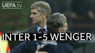 Download WENGER'S GREAT VICTORIES: Inter 1-5 Arsenal Video