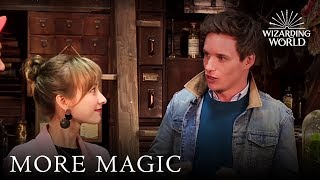 Download Eddie Redmayne Meets the Happy Camp Team From China | Wizarding World Video