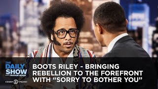 """Download Boots Riley - Bringing Rebellion to the Forefront with """"Sorry to Bother You"""" 