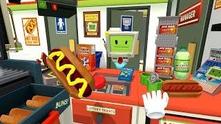 Download Job Simulator - Store Clerk (HTC VIVE : Job Simulator Part 2) Video