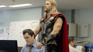 Download Chris Hemsworth ″needed some ME time″ hilarious THOR sketch. Team Thor Video
