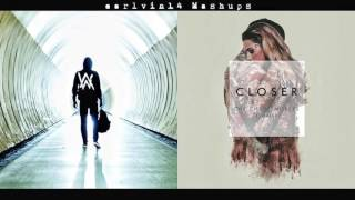 Download Faded vs. Closer (Mashup) - Alan Walker, The Chainsmokers & Halsey - earlvin14 Video