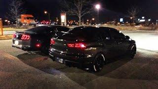 Download Evo X Vs Mustang GT 5.0 Video