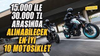 Download 15.000 TL ile 30.000 TL Arasında alınabilecek 10 Motosiklet Video
