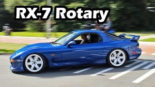 Download Mazda RX-7 Turbo Rotary Engine Sound (Accelerations) Video