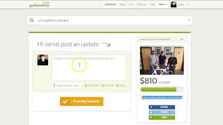 Download GoFundMe: Using Your Dashboard Video