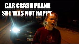 Download I GOT IN A CAR CRASH! ″PRANK ON GIRLFRIEND″ SHE CRIED.. A LOT Video