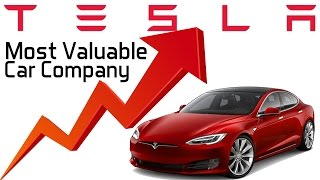 Download Tesla Now the Most Valuable Car Company in the US - Why? Video