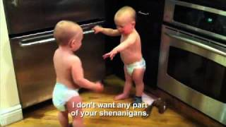 Download The Talking Twin Babies, Translated Video