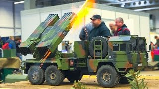 Download BEST OF RC TANKS, RC MILITARY VEHICLES, CONSTRUCTION VOL.1 / Fair Erfurt Germany 2017 Video