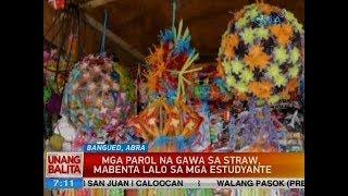 Download UUB: Mga parol na gawa sa straw, mabenta lalo sa mga estudyante Video