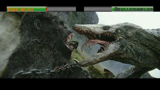 Download King Kong vs Skullcrawler...with healthbars Video
