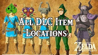 Download [Zelda Breath of the Wild] All NEW DLC Item Locations! Video