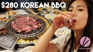 Download $280 Korean BBQ, How to Eat Properly?! Video