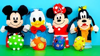 Download Mickey Mouse Puppets Open Playdoh Surprise Eggs with PJ Masks and Scooby Doo Video