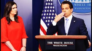 Download Anthony Scaramucci Directs Nonsense Hair & Makeup Comments To Sarah Huckabee Sanders While On CNN Video