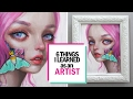 Download 6 THINGS I LEARNED AS A SELF-EMPLOYED ARTIST || 30 Days of Art Episode 29 Video