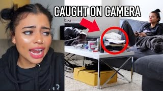 Download Catching Paranormal Activity In My Apartment ! (LIVE FOOTAGE FROM CAMERAS I SET UP) Video