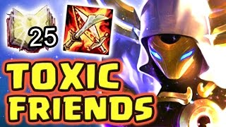 Download MY TOXIC FRIENDS MADE ME CRY !! RAGE TEAM 1-SHOTS FULL AP KASSADIN MID - Nightblue3 Video