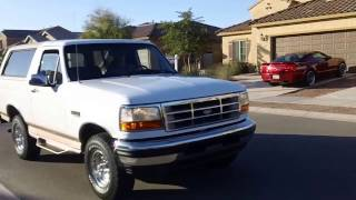 Download Tom's Toys white Eddie Bauer Ford Bronco video Video