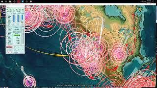 Download 10/13/2017 - Pacific earthquake activity increasing - California to Midwest USA + NEW deep EQ's Video
