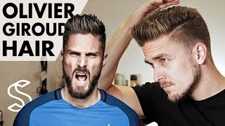 Download Olivier Giroud Hairstyle 2017 ★ Arsenal Footballer ★ Short Men Hair Barber Video