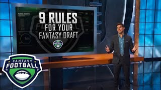 Download Nine rules you should follow when drafting your fantasy football team in 2018 | ESPN Video
