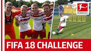Download Müller Fail and Holtby Laughter - EA SPORTS FIFA 18 Bundesliga Free Kick Challenge - Hamburger SV Video
