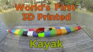 Download World's First 3D Printed Kayak Video