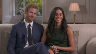 Download Prince Harry and Meghan Markle's first interview together - tape replay Video