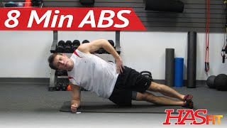 Download Shredding 8 Minute Abs Workout w/ Coach Kozak - 8 Min Abdominal Exercises - Abs and Obliques at Home Video