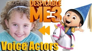 Download ″Despicable Me 3″ (2017) Voice Actors and Characters Video