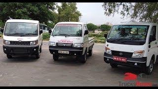 Download Mini Trucks Comparison - Tata Ace XL vs. Mahindra Supro vs. Maruti Suzuki Super Carry Video