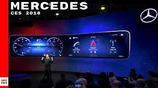 Download Mercedes at CES 2018 - MBUX Cockpit User Experience Video