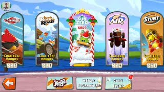 Download Angry Birds Go! Christmas Update Gameplay Android / iOS Video